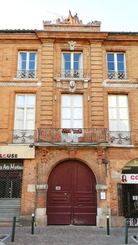 Hôtel Virebent quartier Saint-Cyprien Toulouse